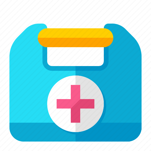 aid, box, care, emergency, first, healthcare, medical icon