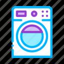 house, machine, washing icon