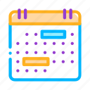 calendar, month, page icon