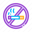 forbidden, no, smoking icon