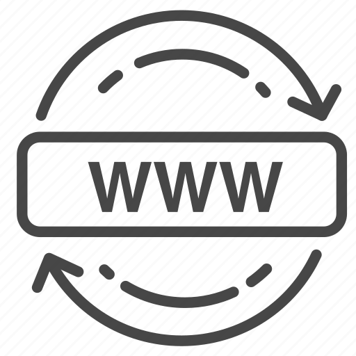domain, hosting, internet, network, renew, web icon