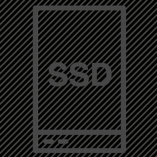 harddisk, host, hosting, memory, server, solid state drive, ssd icon