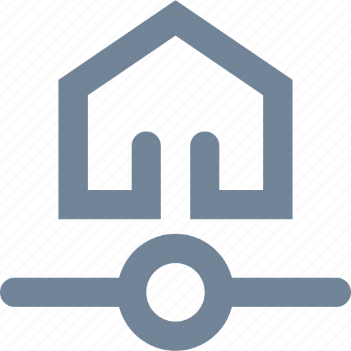 connection, home, hosting, house, internet, network, web, wireless icon