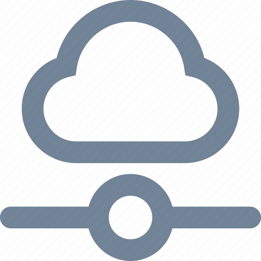 cloud, computing, connection, hosting, network, wireless icon