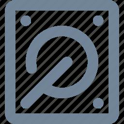 data, drive, hard disc, hosting, network, storage icon