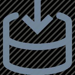 data, download, hosting, network, service, storage icon