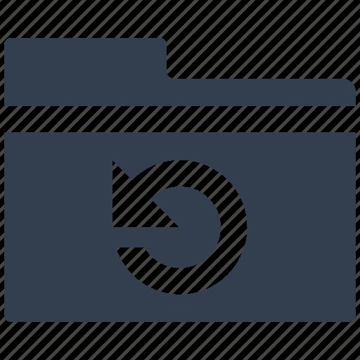 files, folder, hosting, info, refresh, safe, storage icon