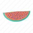 food, fruit, mellon, melon, slice, watermelon