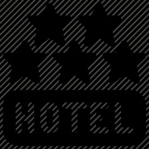 achievement, award, best, hotel, star icon