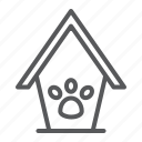 animal, cat, dog, footprint, home, house, pet icon