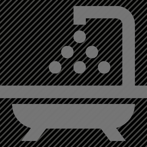 bath, shower, tub icon