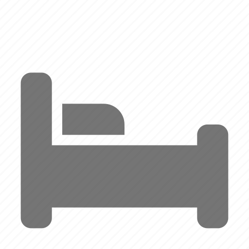 bed, sleep icon