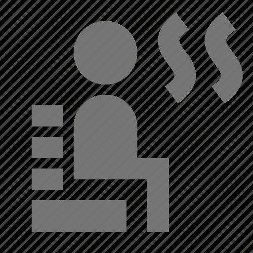 sauna, steam icon