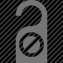do not disturb, sign icon