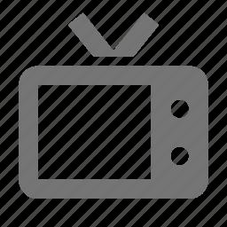 hotel, television, tv icon