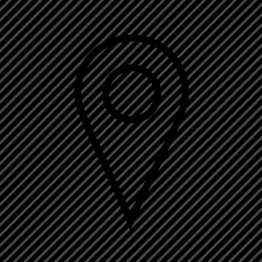 location, map, pin icon icon