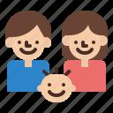family, kid, people, room