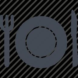 food, hotel, restaurant, service icon