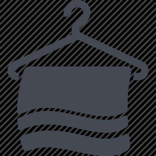 hotel, service, services, towel icon