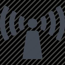 hotel, internet, network, service icon
