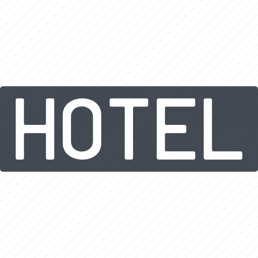 building, construction, hotel, service icon