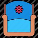 armchair, furniture, household, chair