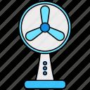 fan, cooler, wind, air