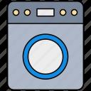 washing, machine, equipment, laundry