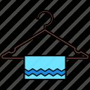hanger, towel, hotel, accommodation