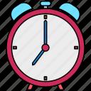 alarm, clock, alert, schedule