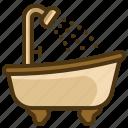 bathtub, bath, bathtube, hygienic, hygiene, clean, washing