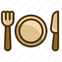 meal, lunch, dish, cutlery, breakfast, plate, food