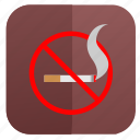 cancel, sign, smoke, smoking icon