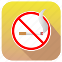 cancel, hotel, no, sigarette, smoke, smoking icon