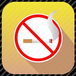 cancel, hotel, no, sigarette, smoke, smoking icon