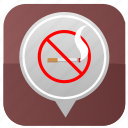 cancel, hotel, no, room, smoke, smoking icon