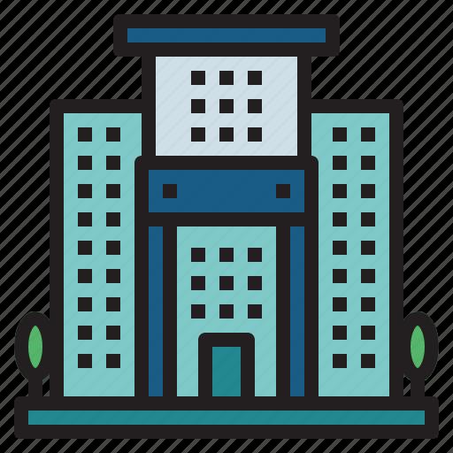 buildings, hostel, hotel, vacations icon