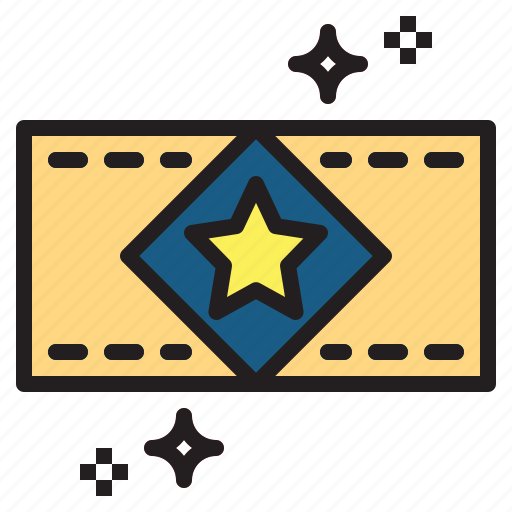 pass, show, ticket, vip icon