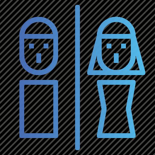 bathroom, signs, toilet, wc icon