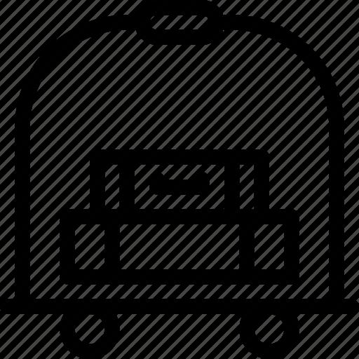 bellboy, bellhop, help, hotel, service icon