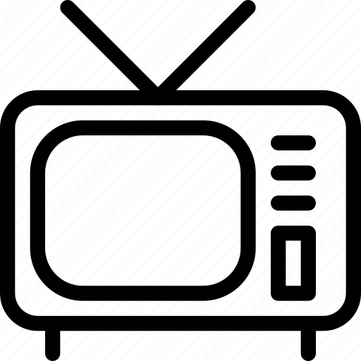 entertainment, hotel, service, television, tv icon