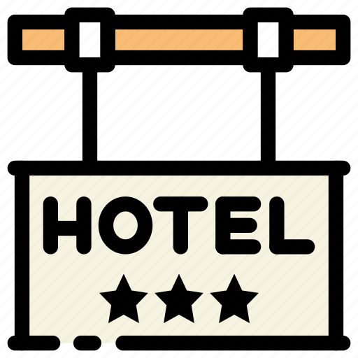 Hotel, hotel sign, location icon - Download on Iconfinder
