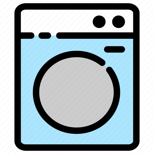 hotel, laundry, machine, washing icon