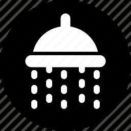 bath, hotel, service, shower, trip, vacation, washroom icon icon