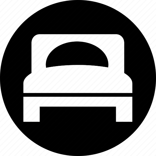 acomodation, bedroom, furniture, hotel, room, sleep icon