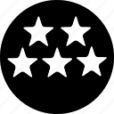 building, five, hotel, room, service, star icon icon