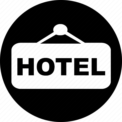 hotel, resort, service, travel, trip, vacation icon icon