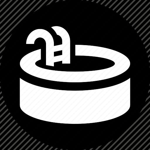 pool, service, sports, swim, swimming, trip, water icon