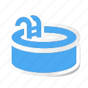 hotel, pool, sports, swim, swimming, vacation, water icon