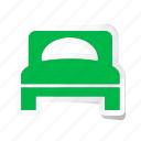 bedroom, furniture, hotel, room, service, sleep, trip icon